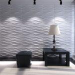 3D панели для стен – соотношение изящества и приемлемой цены