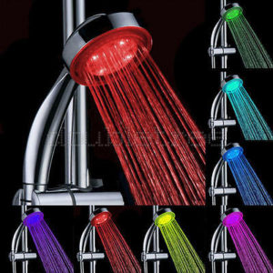 A new shower will appreciate the colored lights