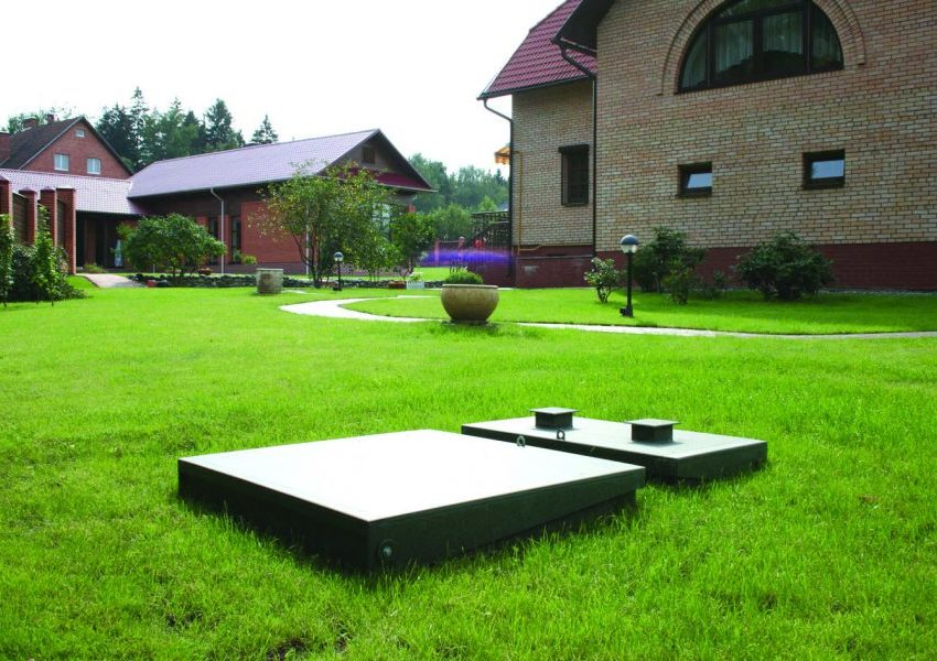 Sewerage for a country house