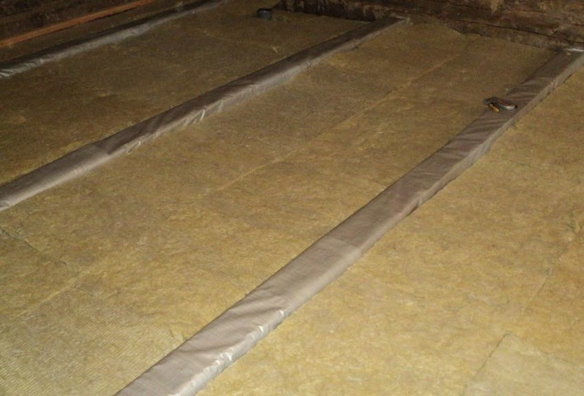 How to insulate the concrete floor.