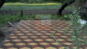 Production of paving slabs and its purpose99